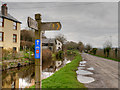 SO0527 : Monmouthshire and Brecon Canal Towpath, Taff Trail (NCN 8) by David Dixon