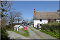 SS2317 : The Old Smithy Inn at Darracott, Devon by Roger  Kidd