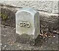 J3069 : GPO cable marker post, Finaghy, Belfast (May 2016) by Albert Bridge
