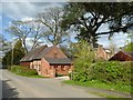 SO8641 : Barn conversion, Earl's Croome by Philip Halling