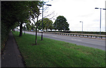 TQ0975 : Great South-west Road towards Staines by Andrew Tatlow