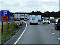 SK7957 : Layby on Southbound A1 near to South Muskham by David Dixon