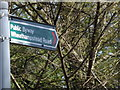 TL1513 : Green Lane Byway sign by Adrian Cable