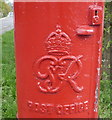 TQ2996 : Cypher, George VI postbox on Enfield Road by JThomas