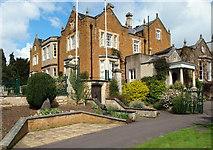 SK7519 : Egerton Lodge, Melton Mowbray, Leics. by David Hallam-Jones