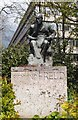 TQ2684 : Sigmund Freud statue, South Hampstead by Julian Osley