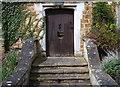SK7519 : Bread door, Egerton Lodge, Melton Mowbray, Leics. by David Hallam-Jones