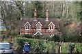 TQ1147 : West Lodge by N Chadwick