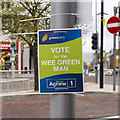 J5081 : Assembly Election Poster, Bangor by Rossographer