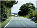 SK8953 : Layby on the Westbound Side of the A17 by David Dixon