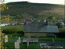 SO2160 : View of New Radnor by Alan Murray-Rust