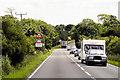 SK9849 : A17 near Byard's Leap by David Dixon