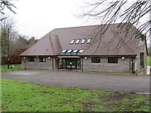 TR0650 : Godmersham and Crundale Village Hall by Peter Wood