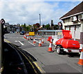 ST3088 : Diversion at the northern end of Tunnel Terrace, Newport by Jaggery