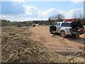 SU4886 : Survey Truck by Bill Nicholls