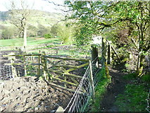 SE0927 : Stile on the Calderdale Way, Northowram by Humphrey Bolton
