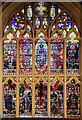 SK5804 : East Window, Leicester Cathedral by Julian P Guffogg