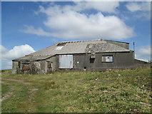 SW9462 : Wolfram mine building, Castle-an-Dinas by David Weston