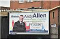 J3674 : Assembly election poster, Albertbridge Road, Belfast (May 2016) by Albert Bridge