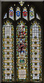 SK5804 : Memorial window, Leicester Cathedral by Julian P Guffogg