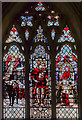 SK5804 : St Martin window, Leicester Cathedral by Julian P Guffogg
