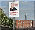 J0154 : Assembly election poster, Portadown - May 2016(3) by Albert Bridge