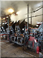 SK2625 : Claymills Victorian Pumping Station - blowing off by Chris Allen