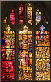 SK5804 : Richard III window (west), Leicester Cathedral by Julian P Guffogg