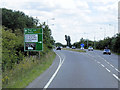 TF1544 : A17, Eastern End of the Heckington Bypass by David Dixon