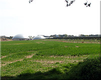 TF9038 : Solar panels and anaerobic digestion plant by Evelyn Simak