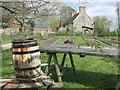 SP1658 : Cider in the Orchard by Des Blenkinsopp