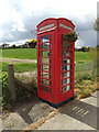 TM1850 : Telephone Box off the B1077 America Hill by Adrian Cable