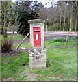 TG4214 : Edward VII postbox on Hall Road, Clippesby by JThomas