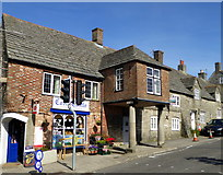 SY9682 : Shops on East Street, Corfe Castle by pam fray