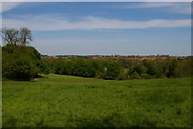 TQ3870 : View north along the Ravensbourne valley, Beckenham Place Park by Christopher Hilton
