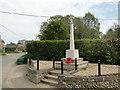 TG0329 : Hindolveston First World War Memorial by Adrian S Pye
