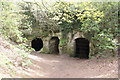 SJ5359 : Caves below Beeston Castle by Jeff Buck
