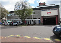 SS7597 : Royal Mail delivery office, Neath by Jaggery