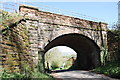 NY6624 : Railway Bridge SAC253 by Roger Templeman