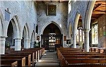 SK3463 : Ashover: All Saints Church: The nave by Michael Garlick