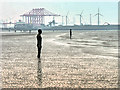 SJ3099 : Crosby Beach, Another Place by David Dixon