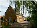 SP8899 : Houses on Glaston Road, Bisbrooke by Alan Murray-Rust