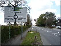 TM5294 : Oulton Street (B1375) by JThomas