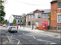ST8558 : South entrance, Sainsbury's superstore, viewed from Church Road, Trowbridge by Steve Roberts