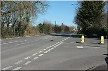 ST6957 : Junction on the Fosse Way by Derek Harper