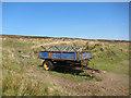 NG3046 : Abandoned trailer by Richard Dorrell