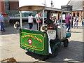 SJ3489 : Home made steam wagon - Albert Dock by Chris Allen