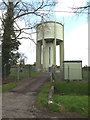 TM1953 : Swilland Water Tower by Adrian Cable