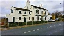 SE2435 : The Rock Inn, Leeds and Bradford Road, Leeds by Mark Stevenson