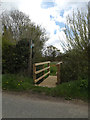 TM1853 : Footpath to Low Road by Adrian Cable